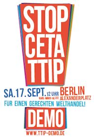TTIP Demo Berlin 2016